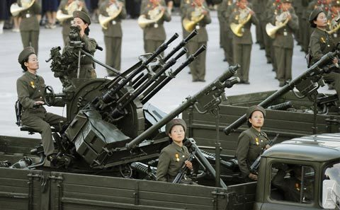 Triều Tiên, quân nhân, tuần tra, tên lửa