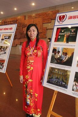 cô Đồng Thị Nga, chất độc da cam