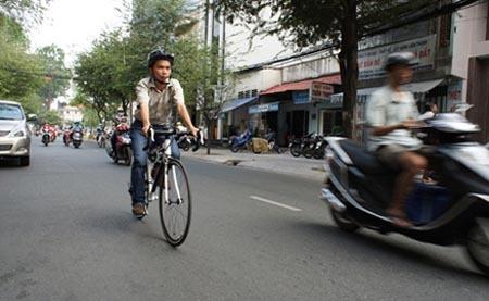 khuyến khích, đi xe đạp, ùn tắc, tai nạn giao thông, môi trường