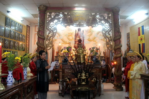 Đền thờ vua Hùng của gia đình họ Đoàn