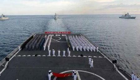TQ điều hải quân 'đánh dấu lãnh thổ'