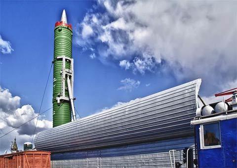 Nga 'hồi sinh' hệ thống tên lửa đường sắt chiến lược