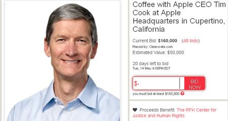 cafe, Tim Cook, Apple