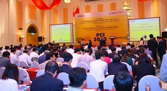 PCI, chỉ số , tỉnh thành, địa phương, chính quyền, đánh giá, xếp hạng.