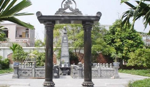 lăng mộ, nhà thờ, đại gia, tiền tỷ, mạnh tay, nhà lầu, nhà giàu, lắm tiền nhiều của, doanh nhân
