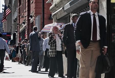 93% dân Mỹ đang nghèo đi