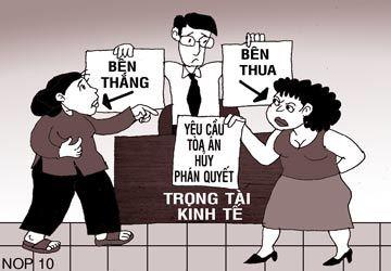 Doanh nghiệp Việt thích ra toà hơn giảng hoà
