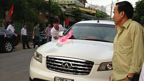 Đám cưới,  xe sang, gây sốt , đại gia Huế