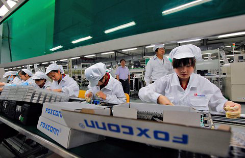 Foxconn Trịnh Châu, iPhone, iPad, Apple