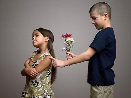 tỏ tình, trẻ con, hài hước, ngộ nghĩnh, tâm lý