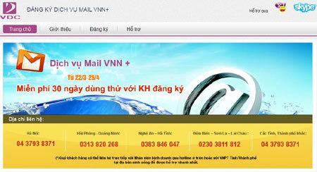 IT, công nghệ, email, thuần Việt, VDC