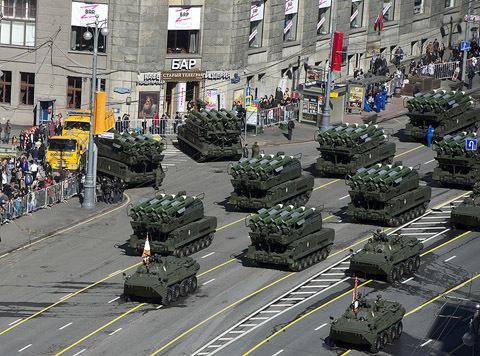 ngày Chiến thắng, Moscow, quảng trường Đỏ