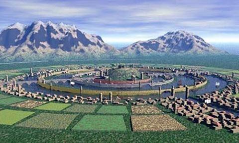 lục địa, Atlantis, huyền thoại, Plato, bí ẩn, phát hiện