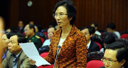 Bùi Thị An, bỏ phiếu tín nhiệm, miễn nhiệm