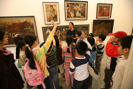 Hồ Ngọc Đại, giáo dục, trẻ em, học, chơi