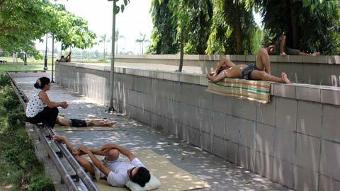 Nắng nóng, miền Trung