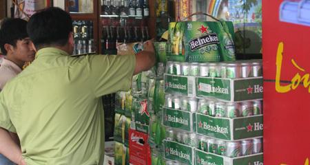 bia lậu, nhập khẩu, biên giới, buôn lậu