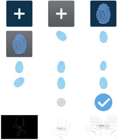 Galaxy S5, Samsung, sinh trắc học, quét vân tay, Apple