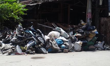Làng mổ xác xe máy độc nhất ở Việt Nam