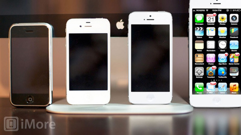 iPhone 5S, iPhone 5, Apple