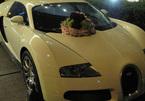 """""""Ông hoàng"""" Bugatti Veyron làm xe hoa"""
