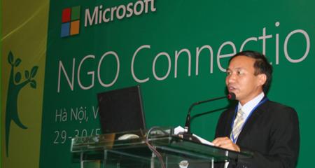 Tổ chức NGO tại VN được hỗ trợ phần mềm bản quyền