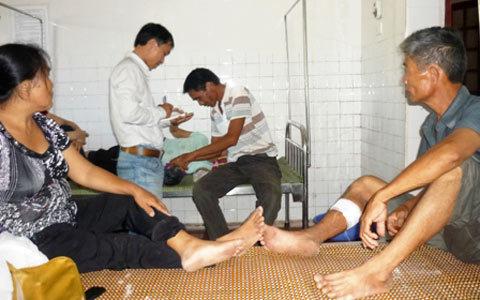 bệnh viện, trộm cướp, con nghiện, Can Lộc, thanh niên lạ mặt, đột nhập