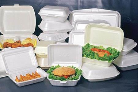 hộp nhựa, đồ sứ, hộp xốp, nhiễm độc, thức ăn