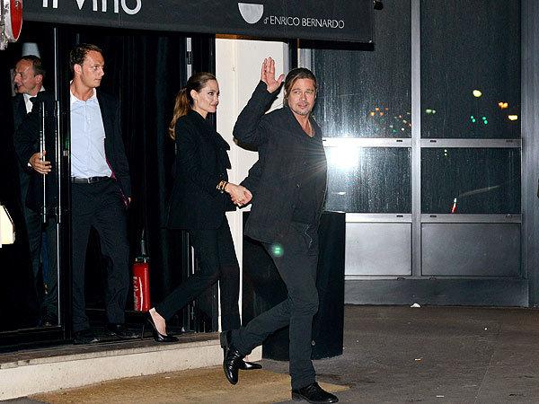 Angeline Jolie, Brad Pitt