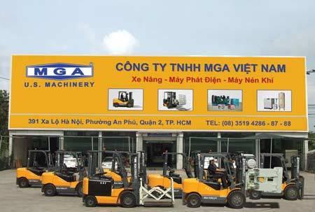 Xe nâng, MGA Forklift, mạnh mẽ, giá,