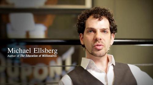 Nền giáo dục của người giàu,  Michael Ellsberg
