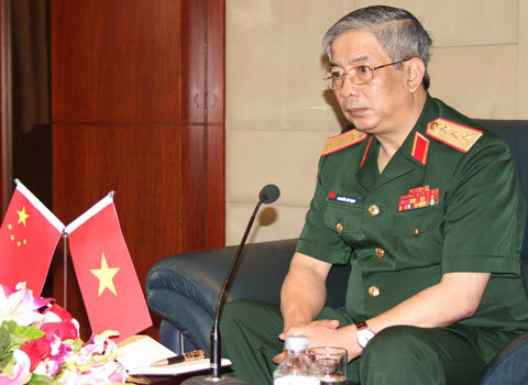 Tướng Vịnh: Tàu ngầm chỉ để bảo vệ vùng biển Việt Nam