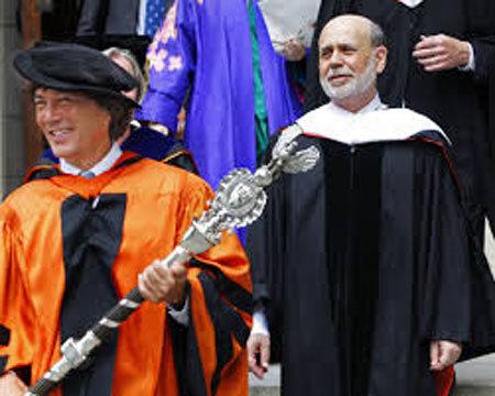 Ben S. Bernanke, FED, phát biểu, Đại học Princeton, ý nghĩa, sinh viên