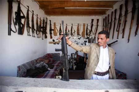 Tiêu điểm - Đi chợ vũ khí ở quốc gia vũ trang tới tận răng