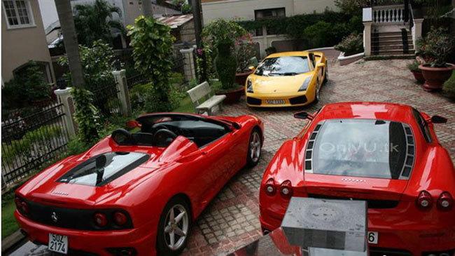 cường đô la, Hà Hồ, kinh doanh, siêu xe