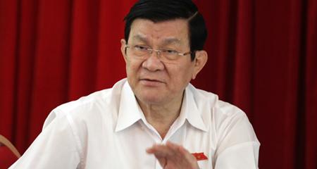 Trương Tấn Sang, Chủ tịch nước, Trung Quốc, Tập Cận Bình