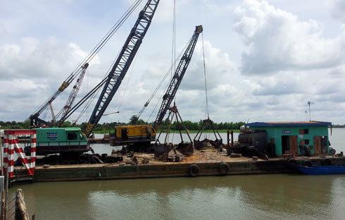cầu Cần Thơ; sông Hậu; Vĩnh Long