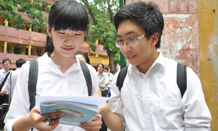 Hà Nội, hình ảnh, tiêu cực, phòng thi, tốt nghiệp, 2013, tỉ lệ