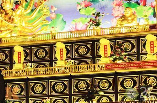 đền thờ, dát vàng, ngàn tỷ, duy nhất