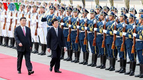 chủ tịch nước, Trương Tấn Sang, Tập Cận Bình, Trung Quốc