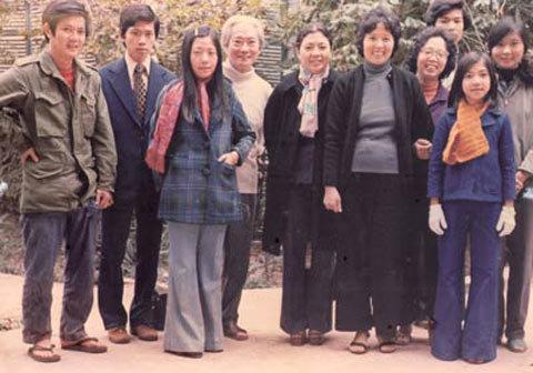 gia đình, Nguyễn Lân, Tôn Thất Tùng, Vũ Khiêu