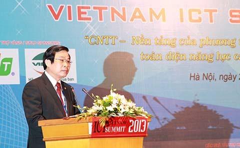 Diễn đàn CNTT - TT 2013, Thủ tướng, năng lực canh tranh, Việt Nam, CNTT