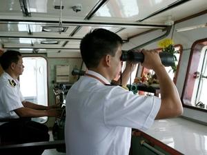 Hải quân Việt-Trung tuần tra liên hợp trên biển