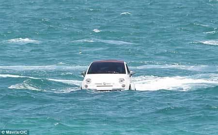 ô tô, bơi lội, Mỹ, Fiat