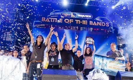 Parasite vô địch đấu trường rock Việt 2013