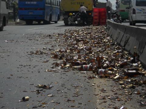 bia Sài Gòn; sự cố; hôi của