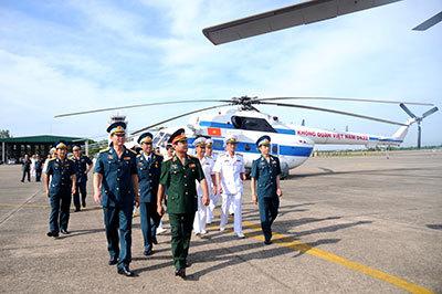 Hải quân Việt Nam có lực lượng không quân