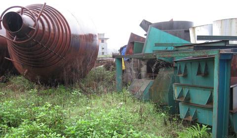 Cận cảnh dự án thép nghìn tỷ bỏ hoang