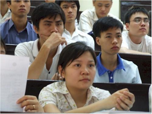 Sinh viên, tuyển sinh, việc làm