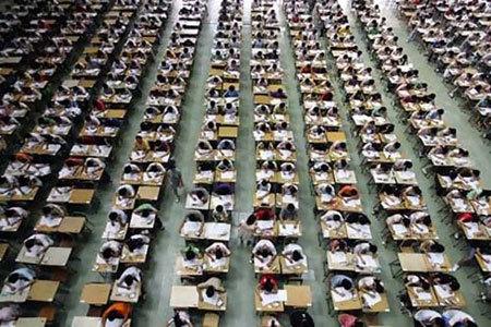 thi đại học, Trung Quốc, điểm 0, bài văn